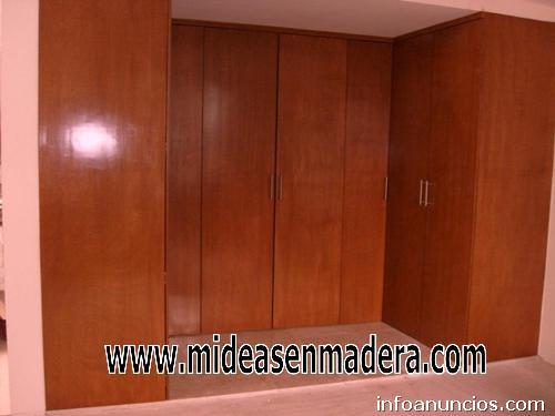 Fotos de closets de madera minimalistas muebles e ideas for Closets minimalistas df