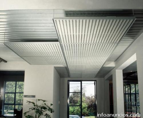 Fotos de plaf n reticular mineralizado y met lico en queretaro for Plafones de techo y pared