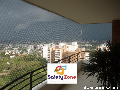 Mallas de seguridad safetyzone en cali tel fono for Piscinas portatiles colombia
