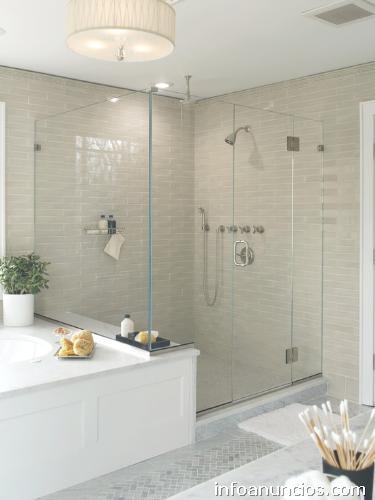 Vidrio aluminio puerta de ba o ventanas cierres de - Puerta de cristal para bano ...
