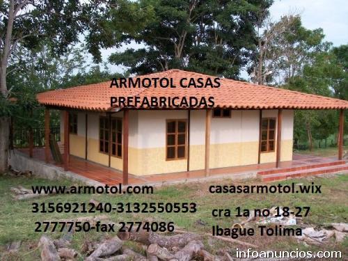 Casas prefabricadas armotol soluciones de vivivenda colombia en ...