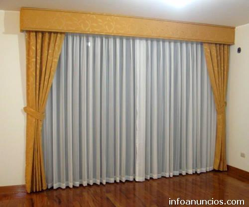 Modelos de cortinas de tela imagui for Modelos de cortinas de tela