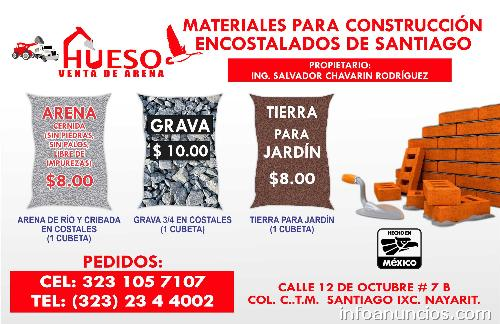 Materiales para construcci n encostalados de santiago en - Casa de materiales de construccion ...