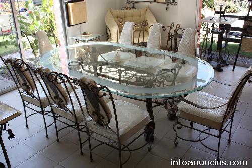 muebles de comedor de hierro forjado 20170719180052