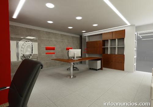Remodelaci n oficinas drywall cieloraso cableado for Remodelacion oficinas