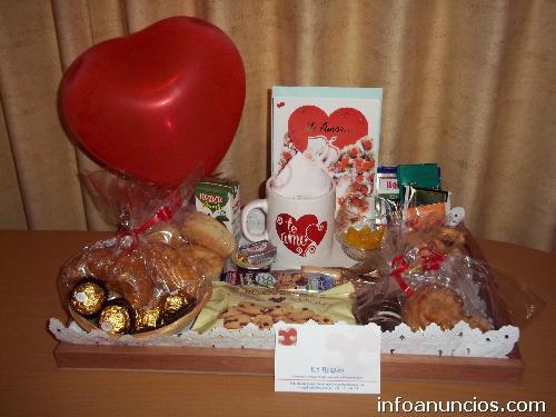 Fotos de desayunos especiales para el d a de los - Sorpresas para enamorados ...