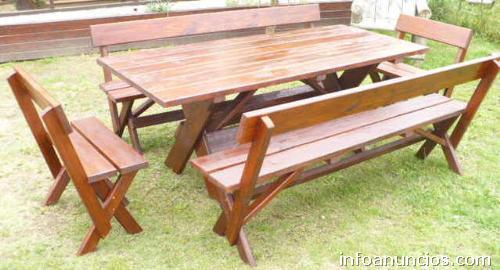 Fotos de carpinter a el retorno muebles r sticos y de for Muebles on line uruguay