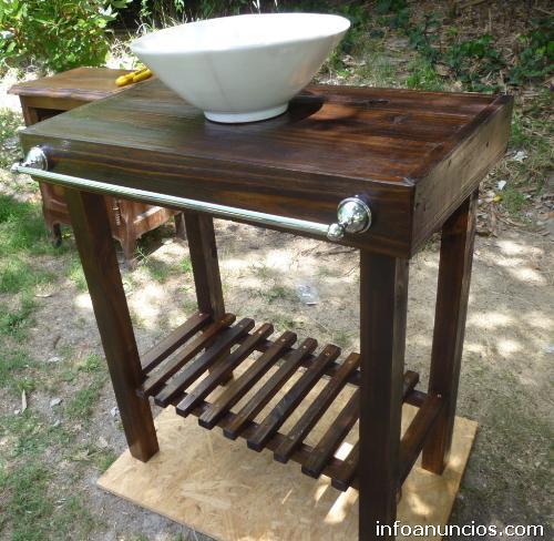 Carpinter a el retorno muebles r sticos y de campo en for Muebles de jardin uruguay