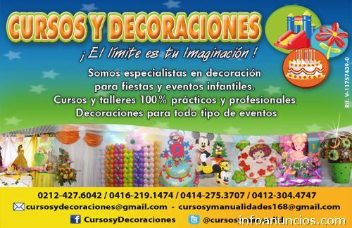 Fotos de curso decoraci n con globos en caracas distrito for Cursos de decoracion