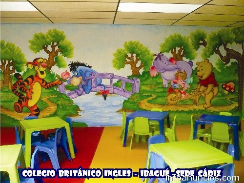 Fotos de murales infantiles en ibague for Murales infantiles