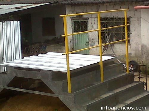fotos de escaleras econmicas acero inoxidable galvanizado hierro negro sn en chia