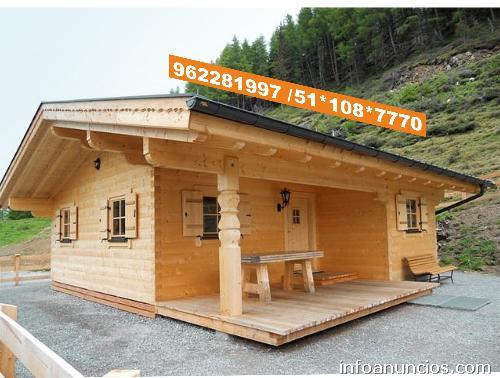 Fotos casas madera