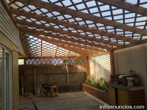 Fotos de cobertizos de madera pte alto la florida for Cobertizo de madera tratada
