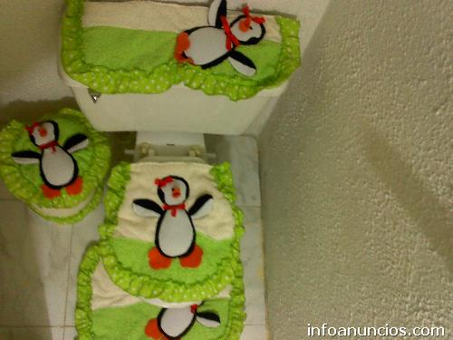 Fotos de Lencería para baños, cocina y muñecos de navidad, cojines ...