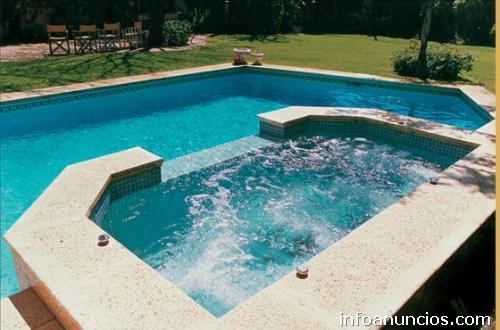 Fotos de construcci n de piscinas hidromasajes y saunas - Construccion de saunas ...