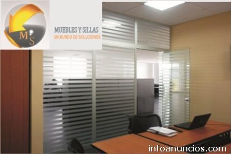 Divisiones media altura piso techo bogot en kennedy for Muebles de oficina kennedy