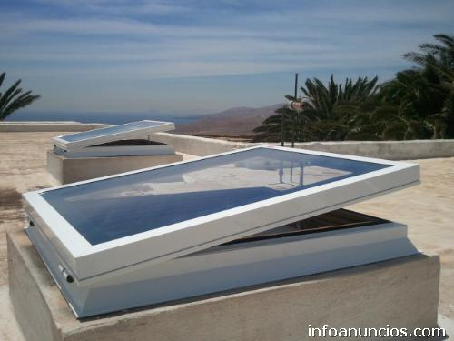 Fotos de claraboyas a medida en santa cruz de tenerife capital for Claraboyas para techos