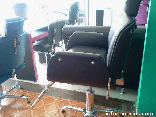 Silla de peluquer a usada de segunda medell n tel fono - Sillas de peluqueria de segunda mano ...