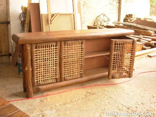 Fotos de muebles r sticos madera y cuero en mercedes - Muebles rusticos de madera ...