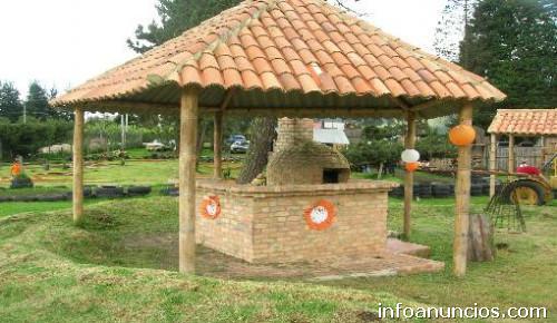 Fotos de guadua construimos todo tipo d estructuras para for Como hacer un kiosco de madera
