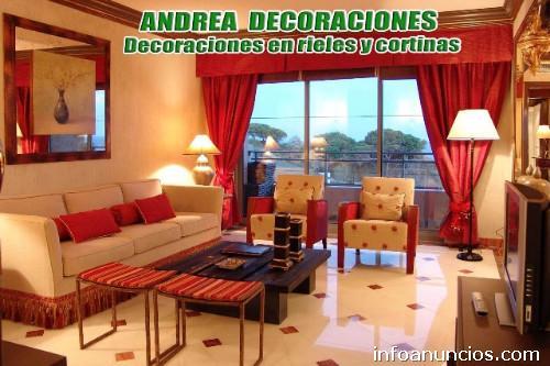 Andrea decoraci n f brica de cortinas pisos flotantes decoraciones para el hogar tubos - Decoraciones para el hogar ...