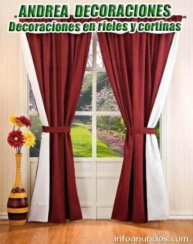Andrea decoraci n f brica de cortinas pisos flotantes - Decoraciones para el hogar ...