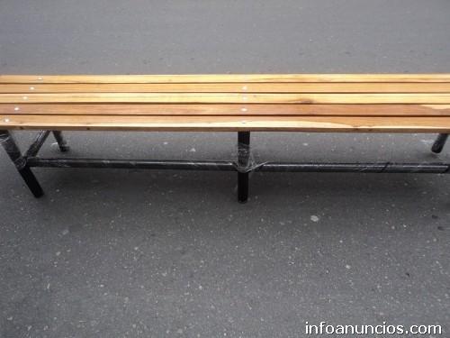 Fotos de bancas para jard n exterior forja fundicion for Mobiliario balcon