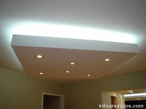 Fotos de dise o de cielo raso y techos con drywall en lima for Techos en drywall para casas