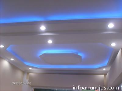 Fotos de dise os de cielo raso en drywall en lima capital for Modelos de cielo raso para salas