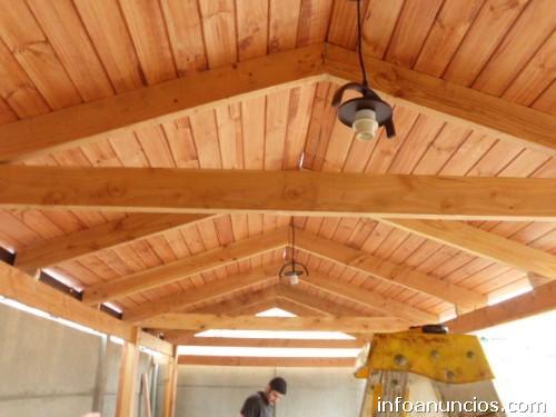 Fotos de cobertizos terrazas corta vista en santiago for Cobertizos de madera precios
