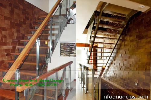 Fotos De Escaleras Y Barandas De Vidrio Puertas De Vidrio