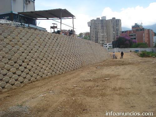 Fotos de gaviones muro bloc pantallas en concreto armado for Muro de concreto armado
