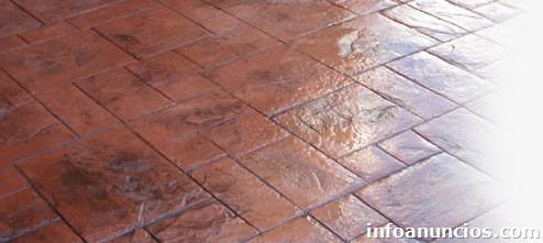 Concret finish estampados en concreto en miami for Cemento estampado fotos
