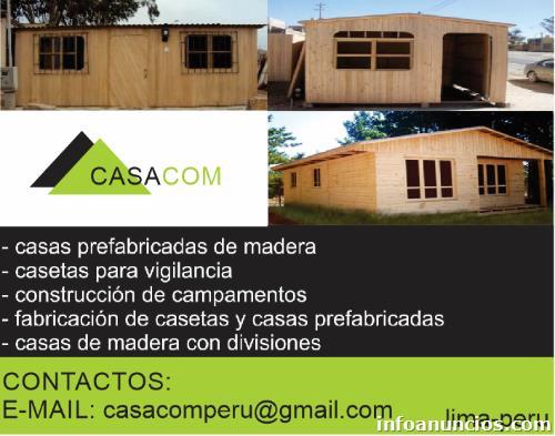 Venta De Casas Casetas Campamentos Módulos Habitaciones
