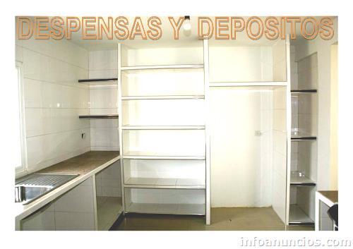 Fotos de cocinas empotradas y closets kits de plaquetas Cocinas prefabricadas