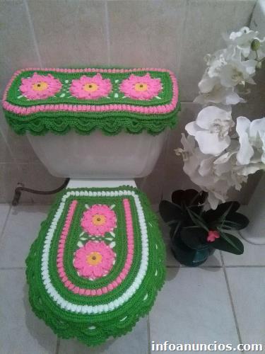 Juegos De Banos Y Manualidades De Crochet En Distrito Central